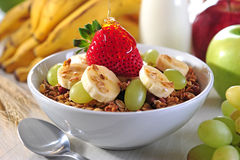 Cereal bowl Stock Photo