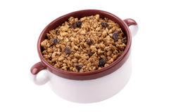 Cereal in a bowl Royalty Free Stock Photos