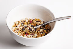 Cereal bowl ready Stock Photos