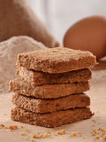 Cereal bran cookies Royalty Free Stock Photos