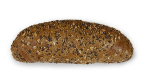 Cereal bread baked in the traditional way Royalty Free Stock Photos