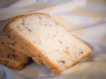 Cereal bread in the morning . Stock Photography