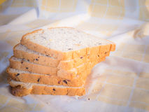 Cereal bread in the morning . Stock Image