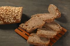 Cereal  bread slices Stock Photos
