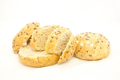 Cereal breadroll Stock Images