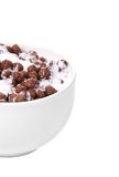 Cereal breakfast for kids. Stock Photos