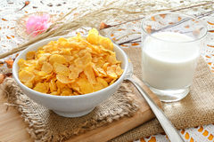 Cereal for breakfast Stock Photos