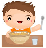 Cereal Breakfast Stock Photography