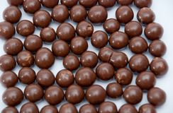 Cereal chocolate balls and bars Royalty Free Stock Image