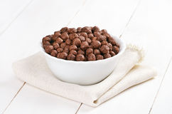 Cereal chocolate balls Royalty Free Stock Photos