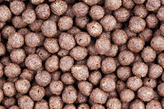 Cereal chocolate balls Royalty Free Stock Photo