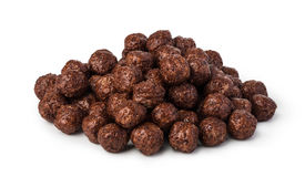 Cereal chocolate balls Stock Photography