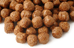 Cereal chocolate balls Royalty Free Stock Image