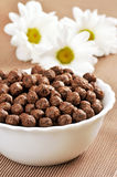 Cereal chocolate balls Stock Photo
