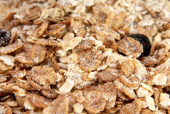 Cereal close up. Selective focus Stock Photography