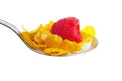 Cereal closeup Stock Photo