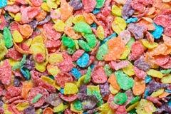 Cereal colorido fotografia de stock
