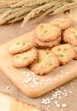 Cereal cookies Stock Photography