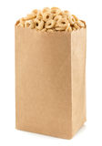 Cereal corn rings in paper bag Royalty Free Stock Images