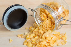 Cereal cornflakes Stock Image