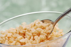Cereal da fibra fotos de stock royalty free