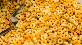 Cereal de café da manhã frutado no evento do piquenique do festival de mola da refeição matinal Fotografia de Stock Royalty Free