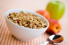 Cereal de desayuno Imagen de archivo libre de regalías