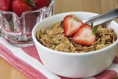 Cereal de desayuno Imágenes de archivo libres de regalías