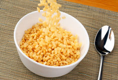 Cereal de desayuno foto de archivo libre de regalías