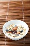 Cereal de desayuno con Chia Seed Imagenes de archivo