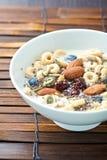 Cereal de desayuno con Chia Seed Fotografía de archivo