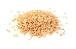 Cereal de desayuno crespo del arroz Imágenes de archivo libres de regalías