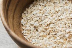 Cereal de desayuno de la harina de avena Foto de archivo libre de regalías