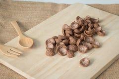 Cereal de desayuno del chocolate Fotos de archivo