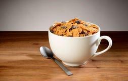 Cereal de la marca de la pasa foto de archivo
