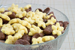 Cereal de pequeno almoço Imagem de Stock Royalty Free