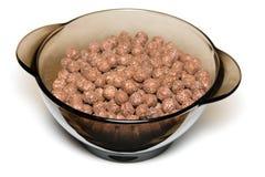 Cereal del chocolate Imágenes de archivo libres de regalías