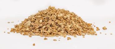Cereal del Granola aislado en el backgroung blanco Fotos de archivo libres de regalías