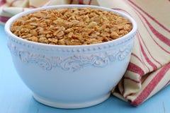Cereal delicioso e saudável do granola Foto de Stock