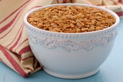 Cereal delicioso e saudável do granola Foto de Stock