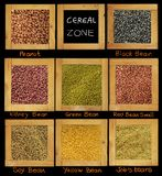 Cereal for diet. Crop cereal picture have bean and peanut and job's tears and soy bean for good health you can full with good shape Royalty Free Stock Photos