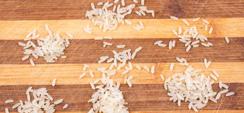 Cereal do arroz no volume Foto de Stock Royalty Free