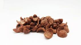 Cereal do chocolate imagens de stock