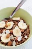 Cereal do farelo imagens de stock
