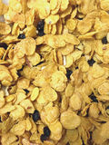 Cereal do mel com passa e amêndoa Imagens de Stock Royalty Free