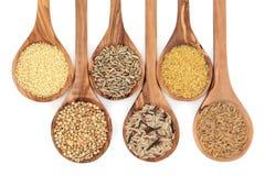 Cereal e alimento de grão Fotografia de Stock Royalty Free