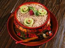 Cereal e fruta foto de stock royalty free