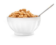Cereal flakes Royalty Free Stock Photo