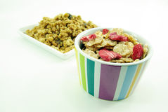 Cereal flakes for breakfast Royalty Free Stock Images