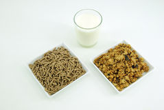 Cereal flakes for breakfast Stock Photography